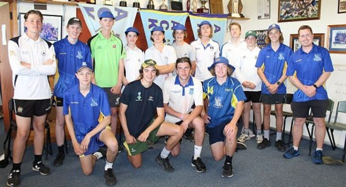 Assumption College Cricketers