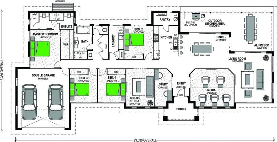 Vermilion Floorplan